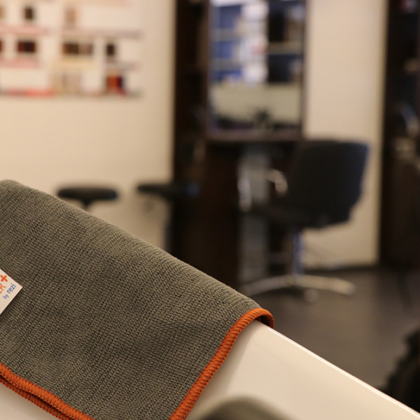 Kosmetiksalon Friseursalon DESINFIZIEREN mit Copper+ CopperPlus Copper Plus