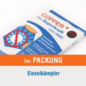 CopperPlus MikrofaserTuch mit Kupferbeschichtung