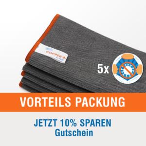 5er Packung Vorteils-Packung Copper+ Tücher von Rezi