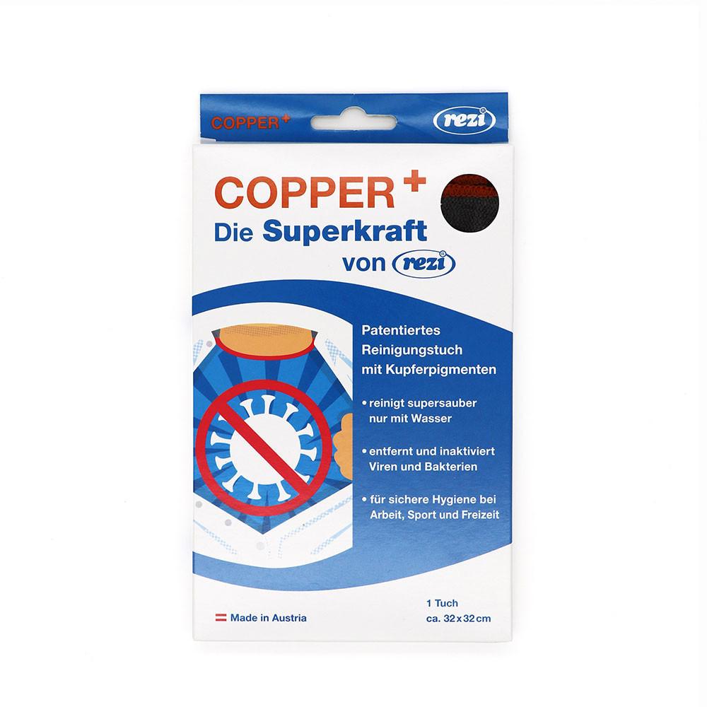 Copper+ Reinigungstuch Einzelpackung