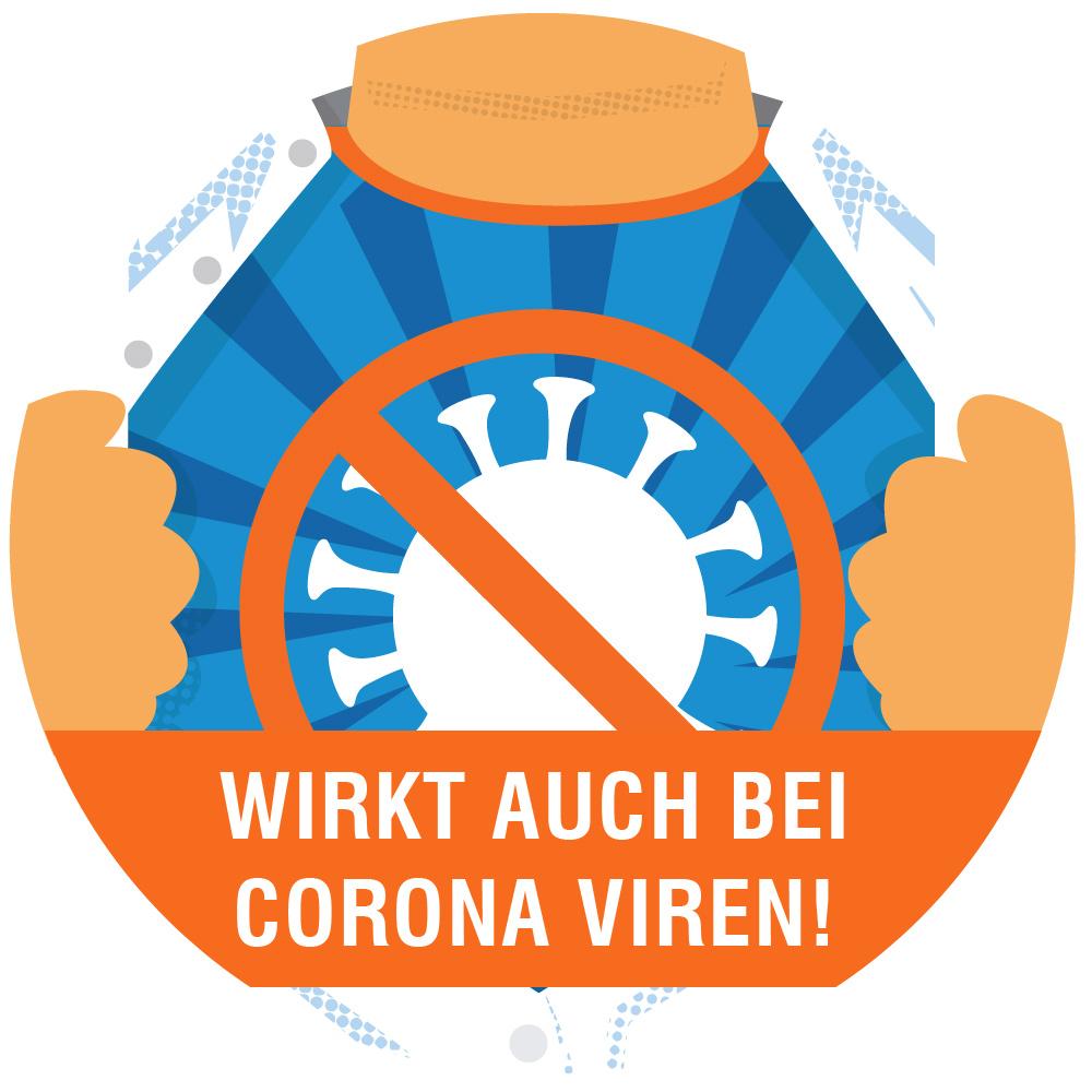 Copper+ wirkt auch beim Corona Virus